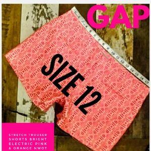 Gap Trouser Shorts Size 12 NWOT
